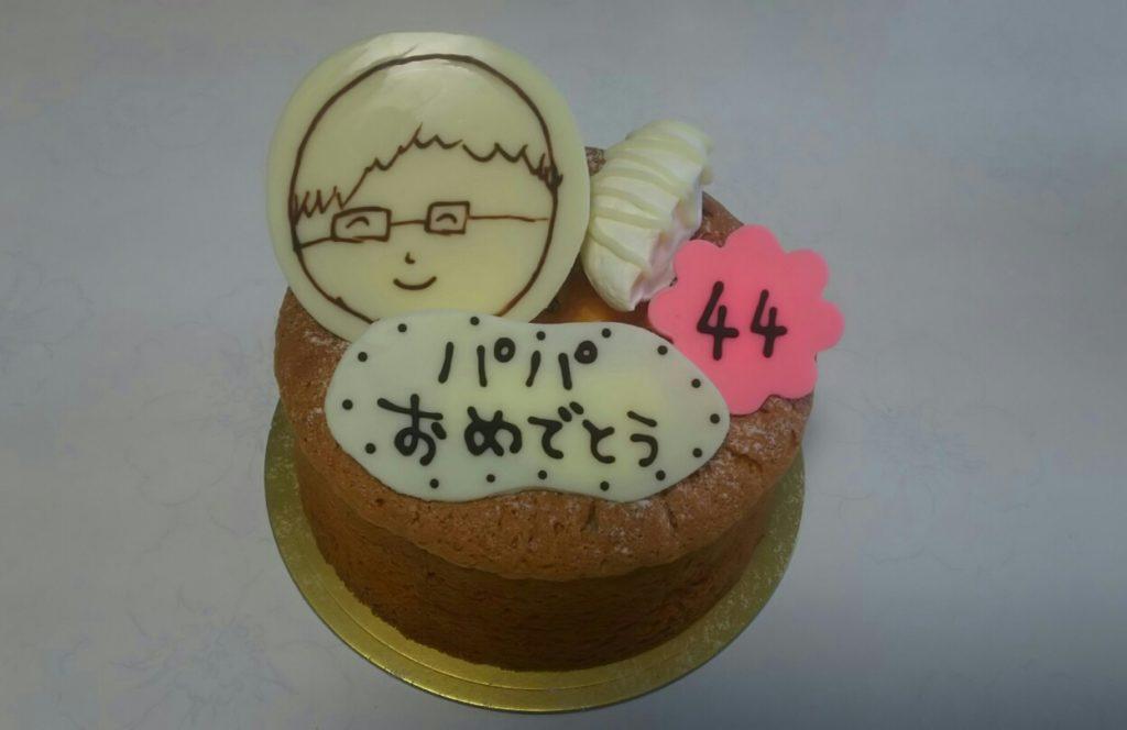 佐藤洋菓子店のデコレーションケーキ
