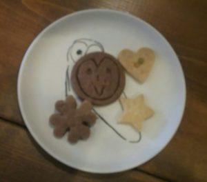 フクロウのクッキー