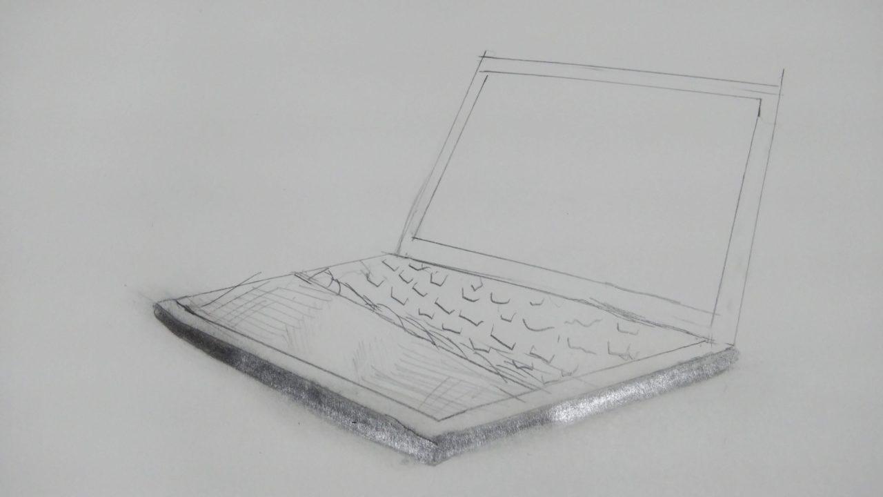 パソコンの絵