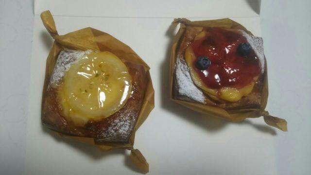 レモンデニッシュとベリーデニッシュ