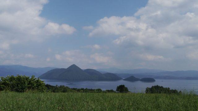 月浦から見た洞爺湖