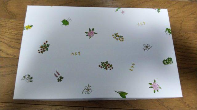 六花亭のお菓子の箱