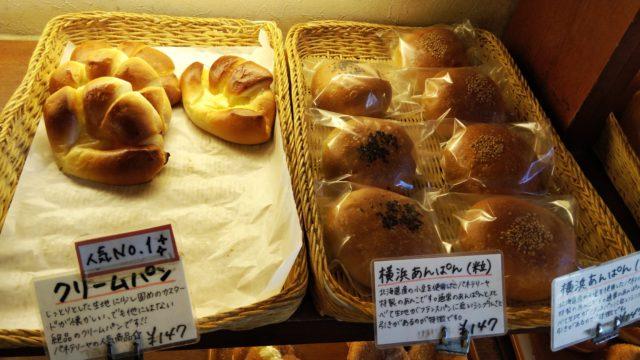 クリームパンとあんパン