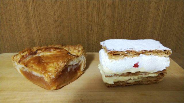 アップルパイとミルフィーユ