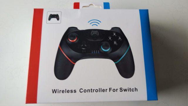 switch兌換コントローラの箱