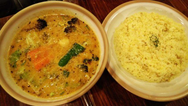 納豆挽肉カリー