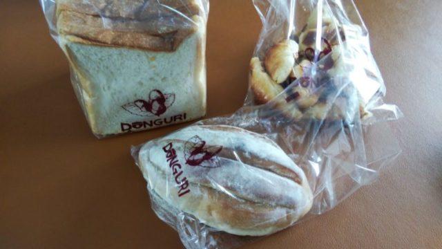 食パンとミニクロワッサンとお米パン