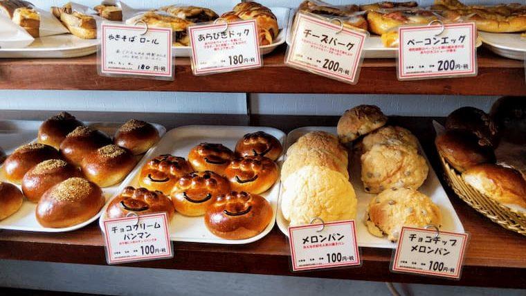 メロンパンやベーコンエッグパン