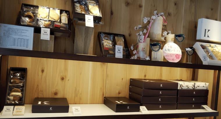 焼き菓子のギフト商品