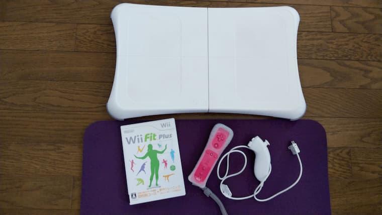 Wiiボードとゲームソフトとリモコン