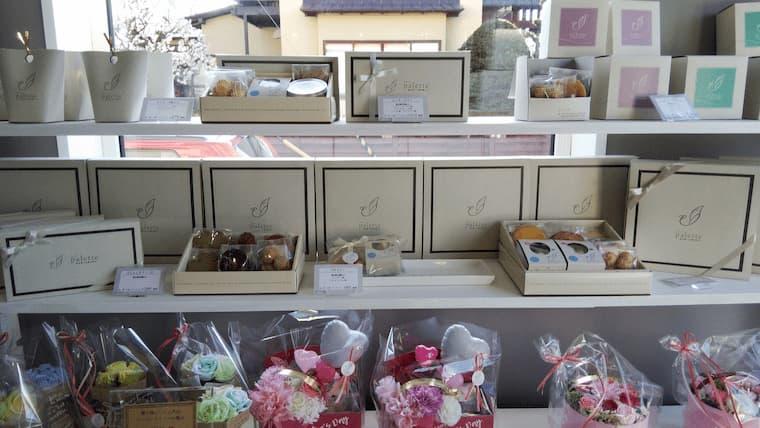焼き菓子コーナー