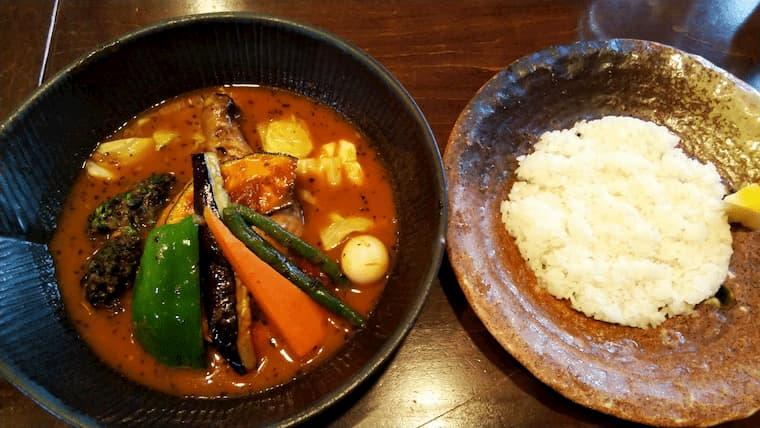 チキンto野菜カレー
