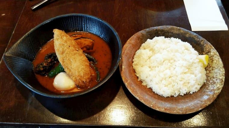 フィッシュフライto野菜カレー