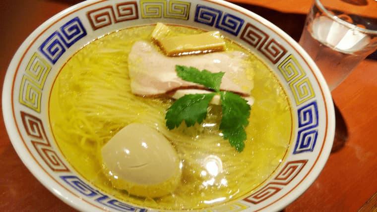 鶏そば白醤油+味玉