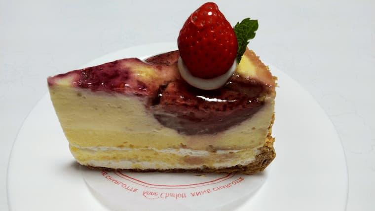 苺のプティングパイ