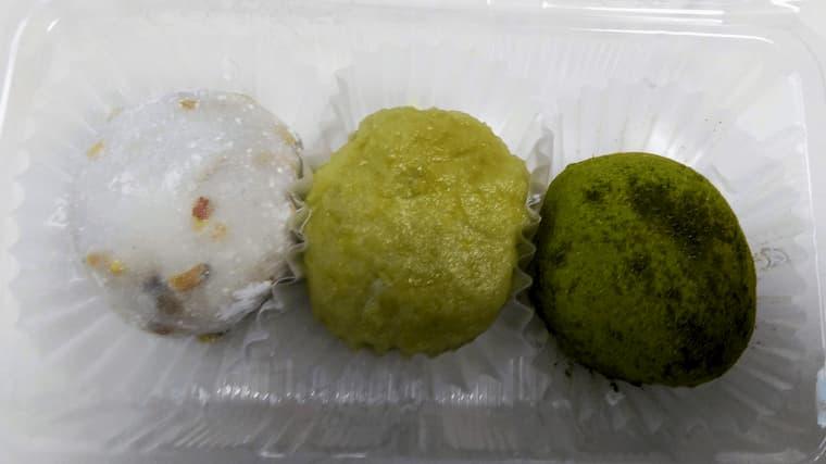 白谷の餅3個