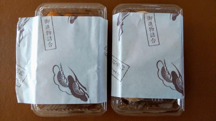 かど丸餅店の包装紙