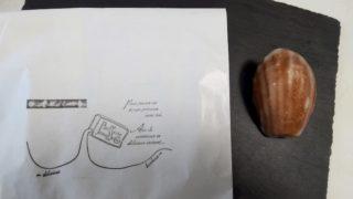 レモンケーキと紙袋