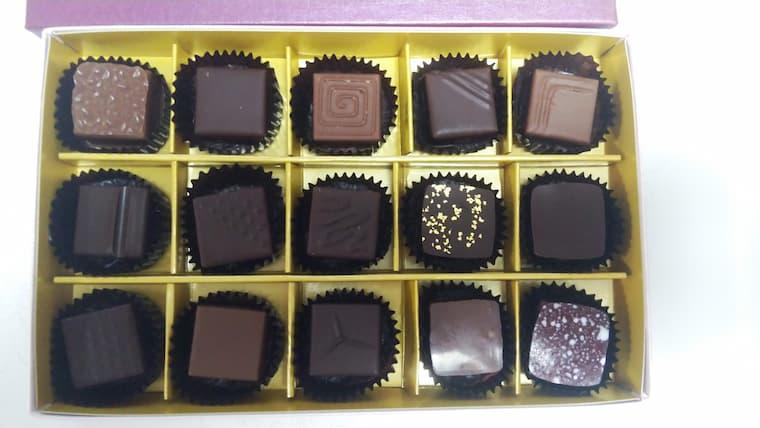 チョコレート15粒詰め合わせ