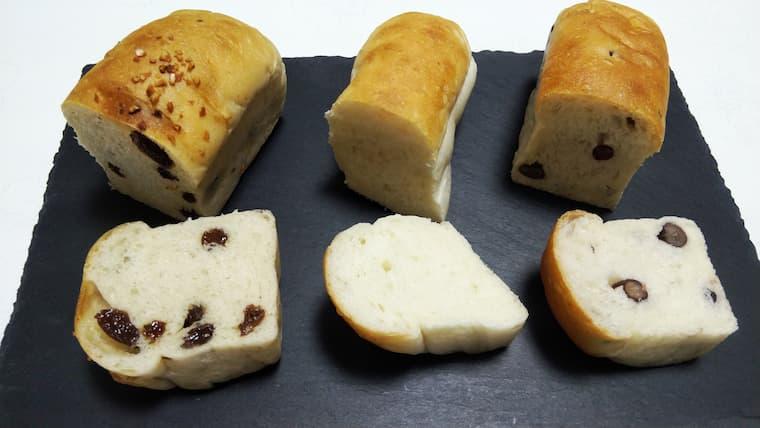 白神ごはんパン3種