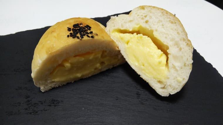 白神ごはんパンのクリームパン