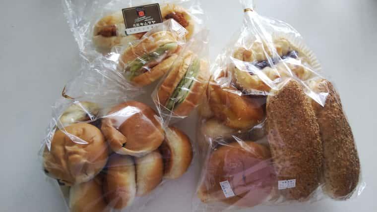札幌キムラヤのパンいろいろ