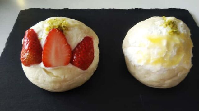 苺とレモンのマリトッツォ