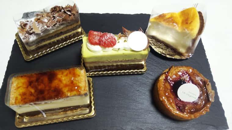 ら・じゅゆなのケーキ5種